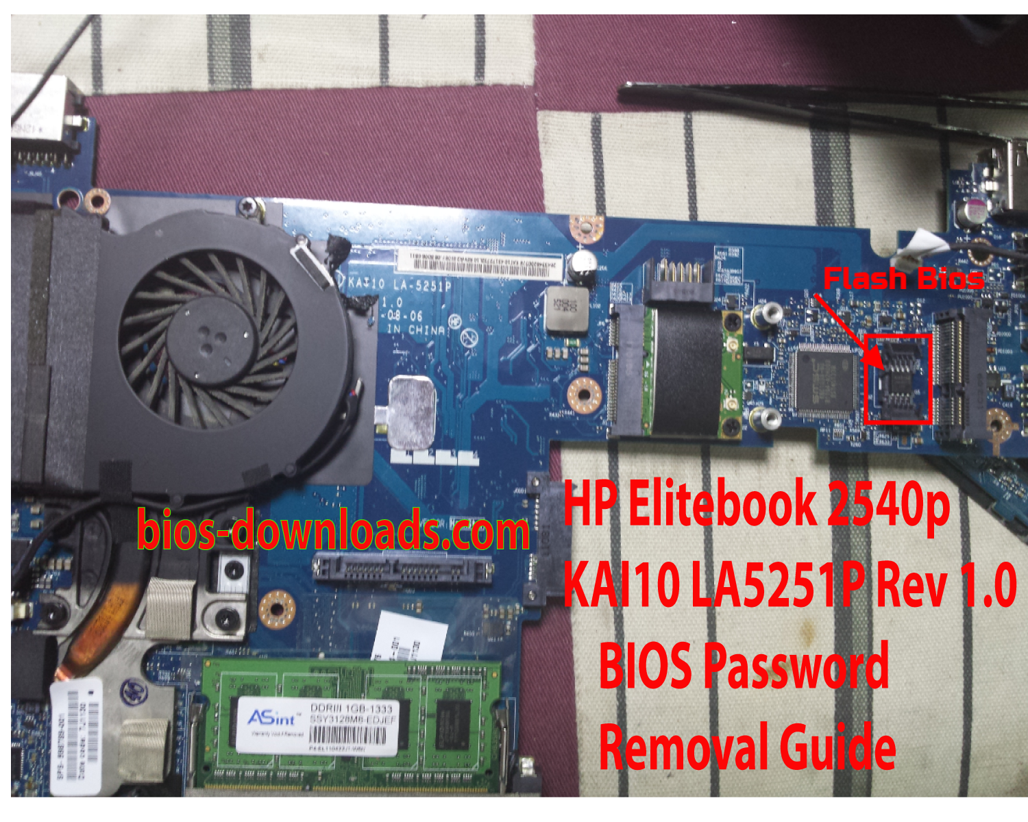 Elitebook BIOS Password - Nectur