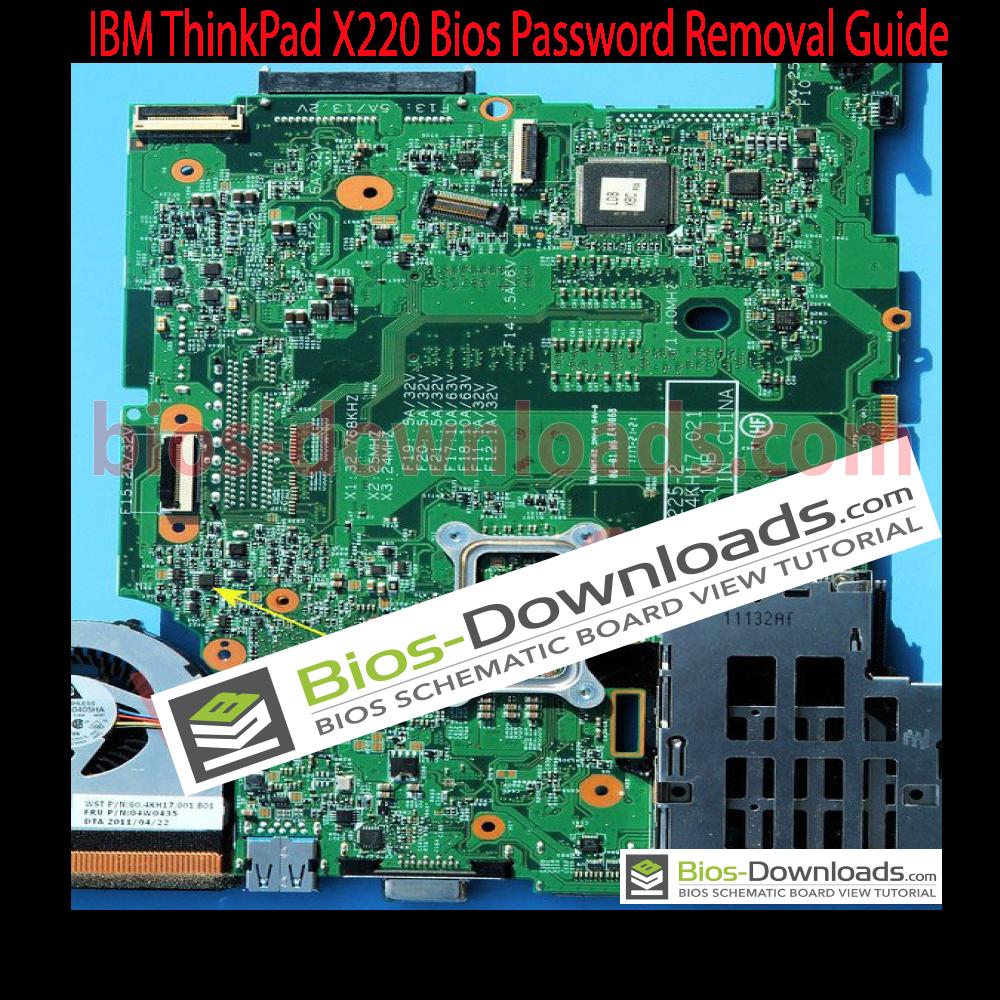 IBM ThinkPad X220 Bios Password Removal Guide