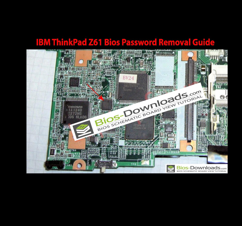 IBM ThinkPad Z61 Bios Password Removal Guide